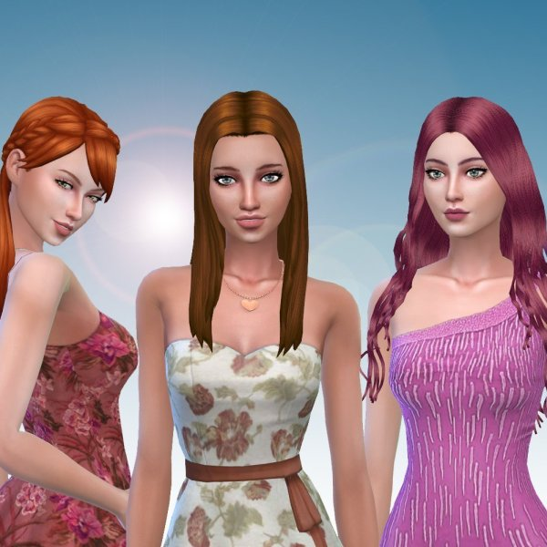 Female Long Hair Pack 13