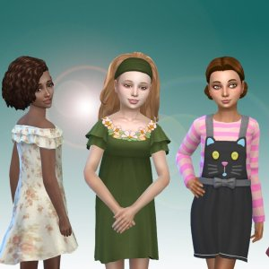 Girls Dresses Pack 3