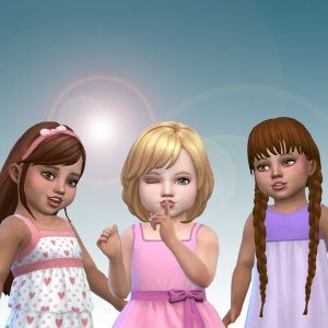 Toddlers Hair Pack 22