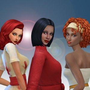 Female Medium Hair Pack 11