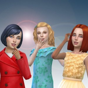 Girls Medium Hair Pack 11
