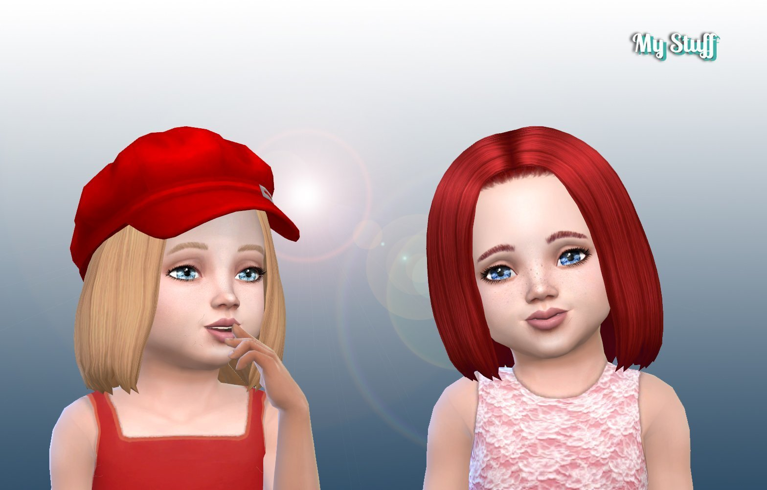 Everly Hairstyle for Toddlers