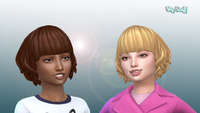 Felicity Hairstyle for Girls