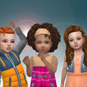 Toddlers Hair Pack 26