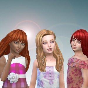 Girls Long Hair Pack 18