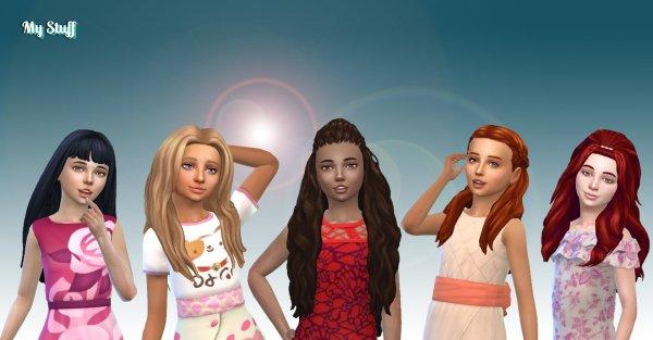 Girls Long Hair Pack 19