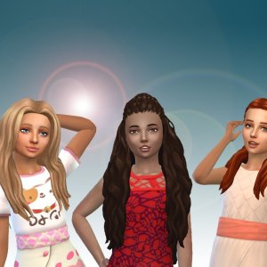 Girls Long Hair Pack 19