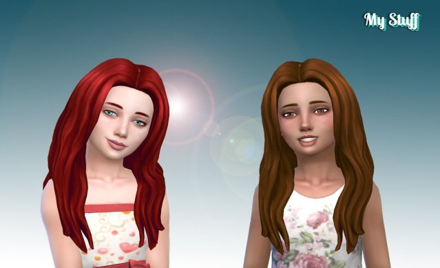 Christina Hairstyle for Girls