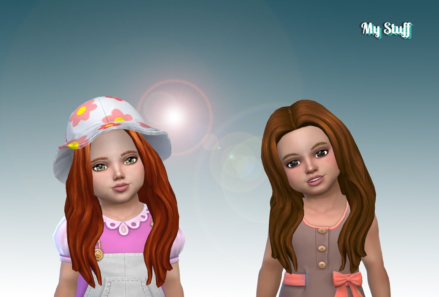 Christina Hairstyle for Toddlers