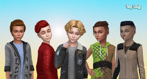 Boys Hair Pack 10