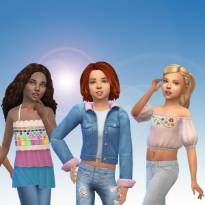 Girls Top Pack 2