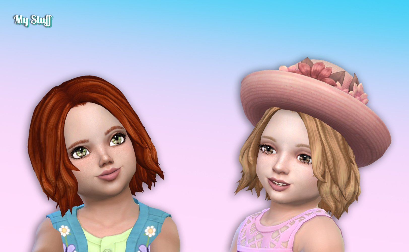 Victoria Hairstyle for Toddlers
