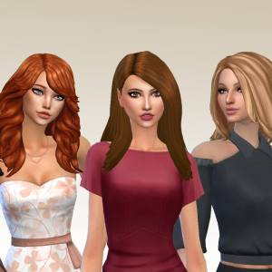 Female Long Hair Pack 22