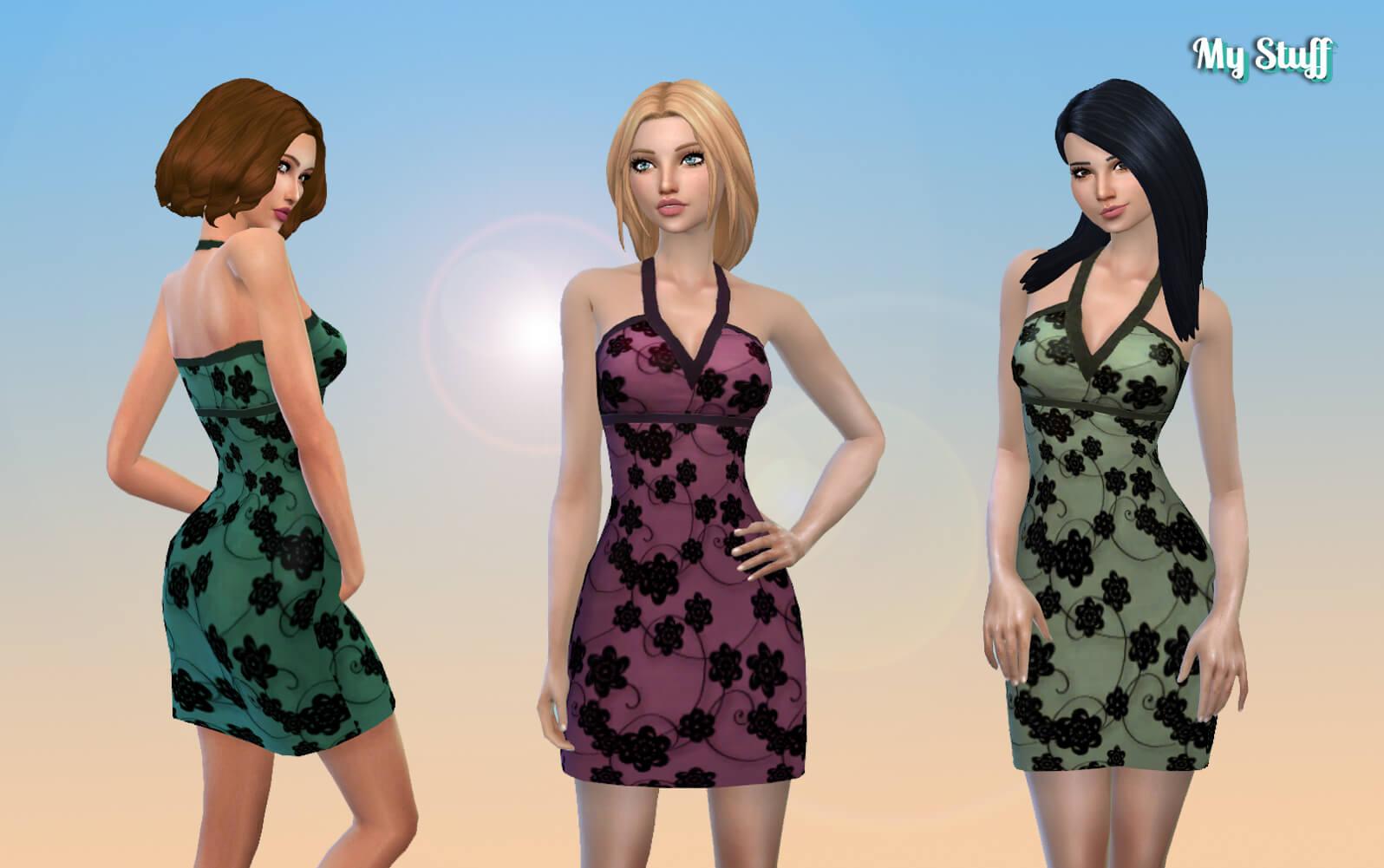 Florid Dress