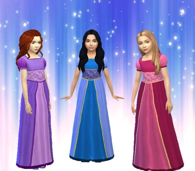 TS2 Girls Dress