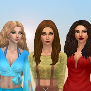 Female Long Hair Pack 23