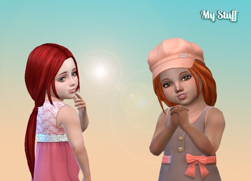 Telma Hairstyle for Toddlers