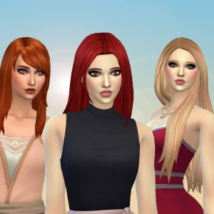 Female Long Hair Pack 24