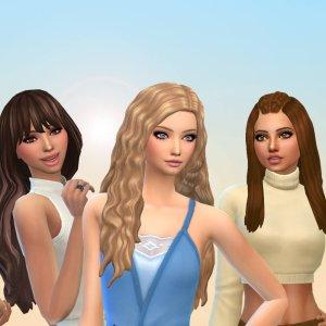 Female Long Hair Pack 25