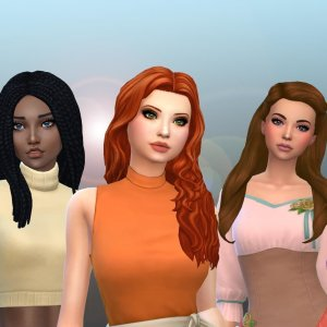 Female Long Hair Pack 26