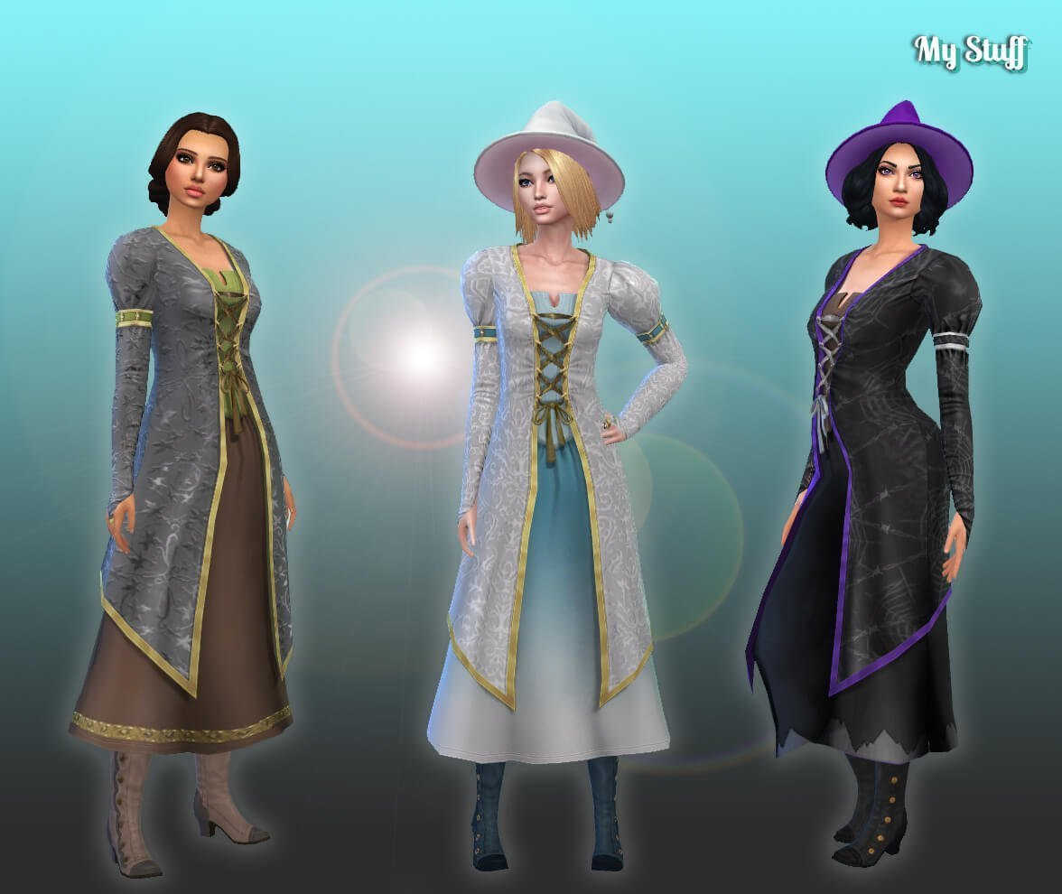 TS2 Witch Clothes