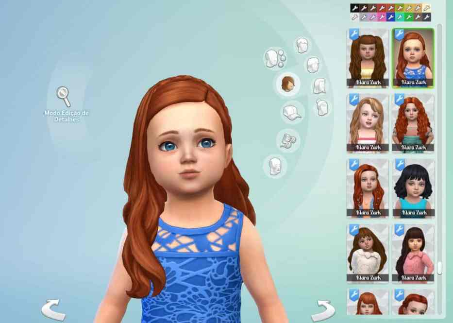 Silvia Hairstyle for Toddlers