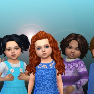 Toddlers Hair Pack 36