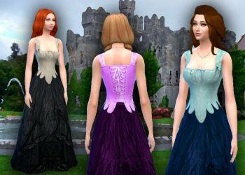 Medieval Corset + Skirt