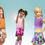 Skirt Bow Side for Girls