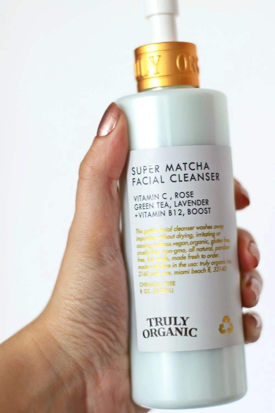 Truly Organic Matcha Cleanser