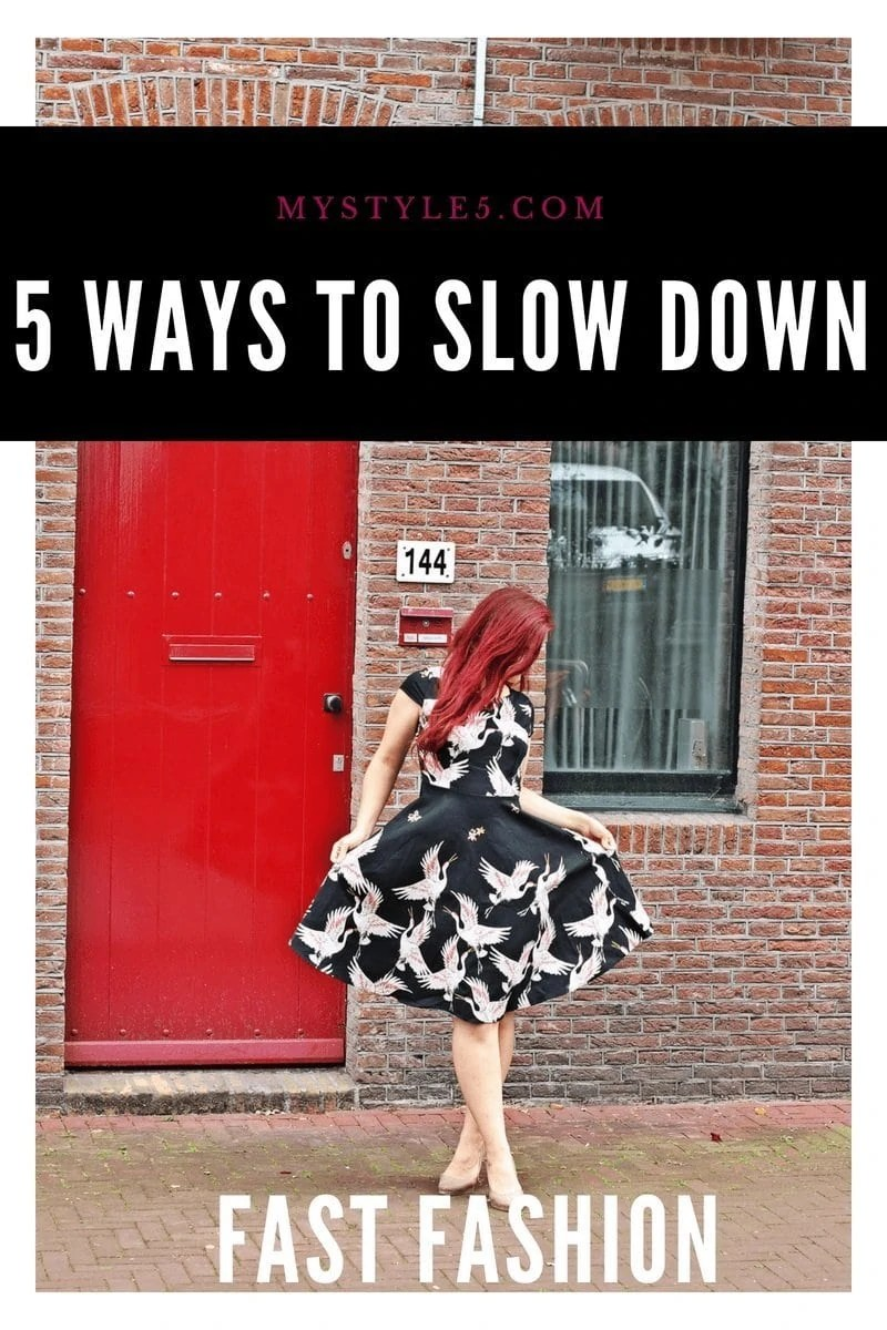 5 Tips for Making Fast-Fashion a Little Slower