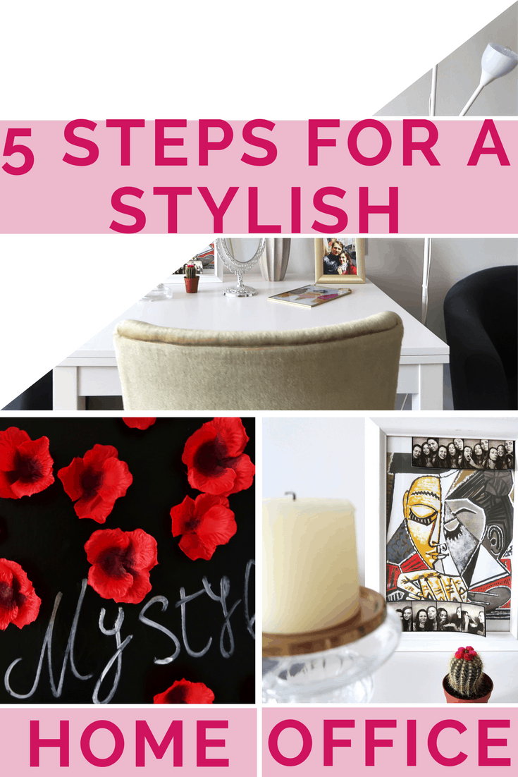 5 steps for a stylish home office