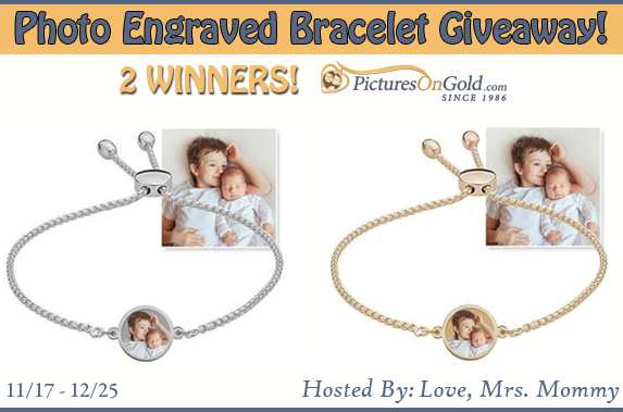 Win an engraved picture bracelet