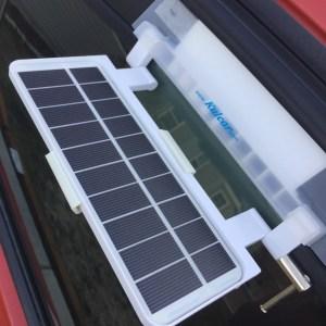 Kulcar Solar Powered Car Cooler