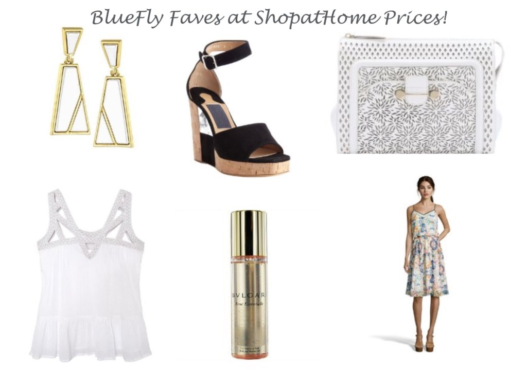 Bluefly Faves at ShopatHome Prices