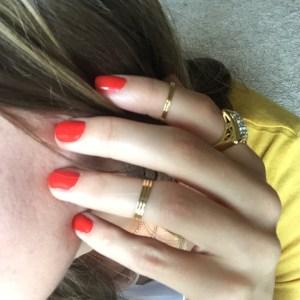 Butter london ladybird nail polish