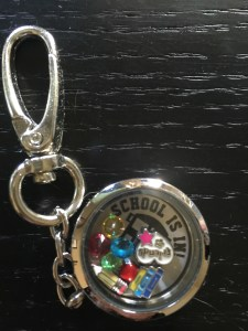 locket charm back to school