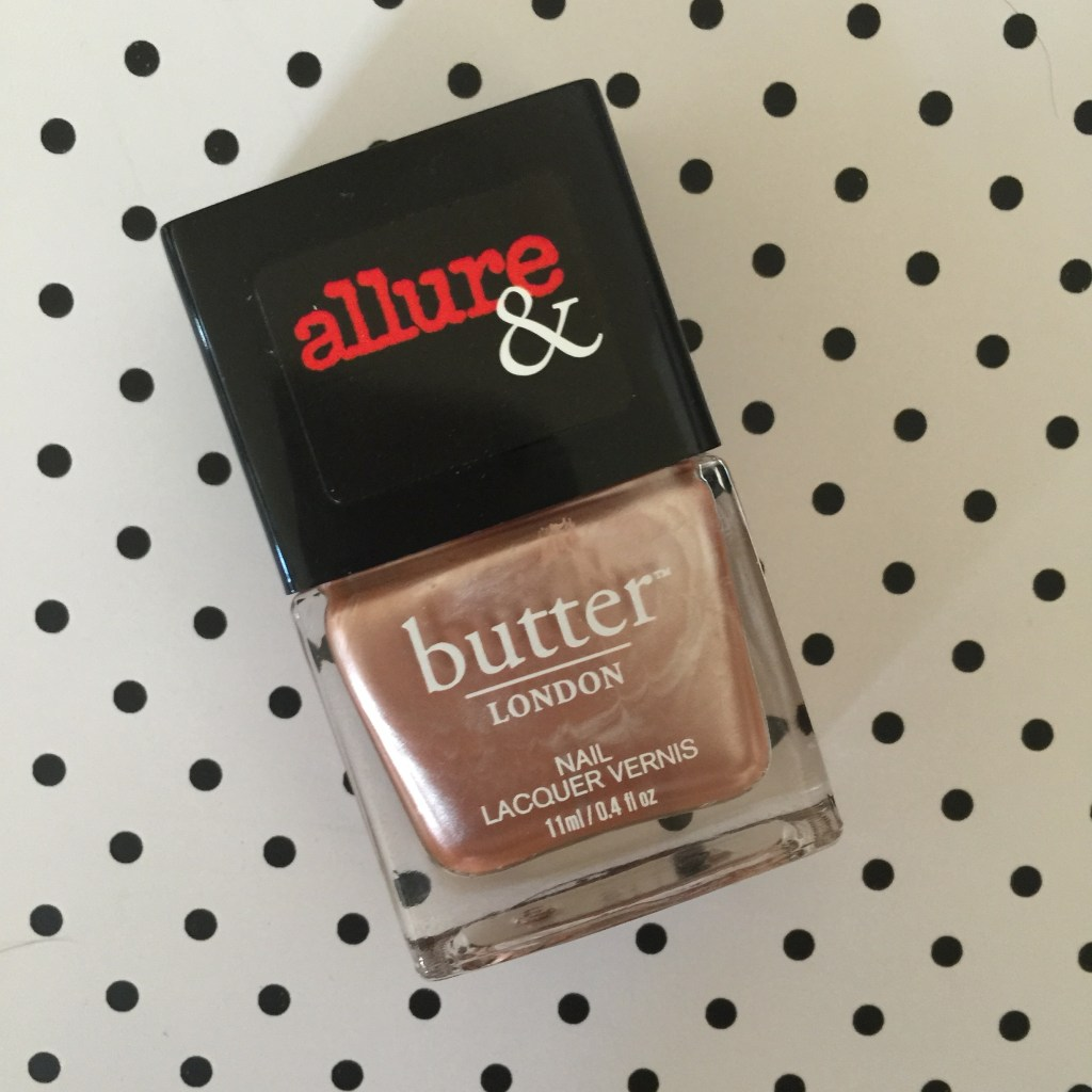i'm on the list by butter london 4 allure