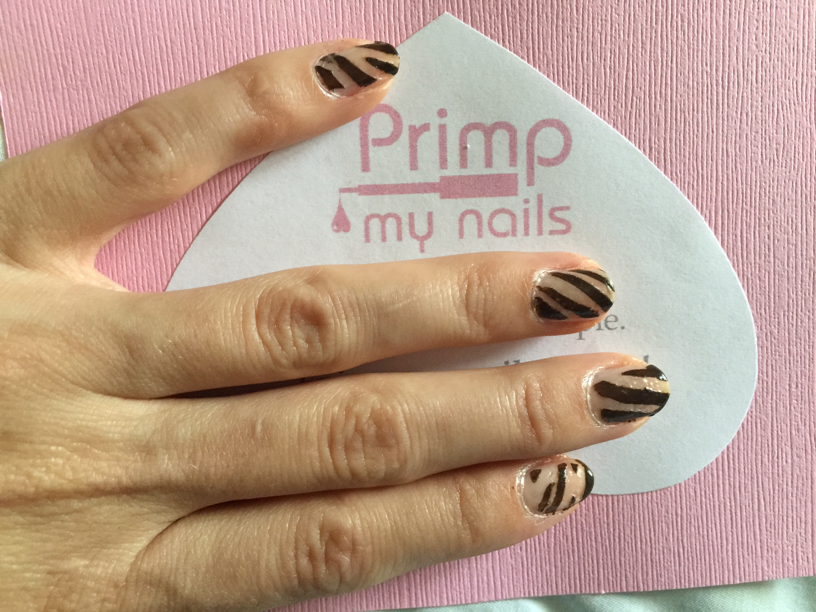 Primp My Nails Stencil Nail Art How To Mystylespot