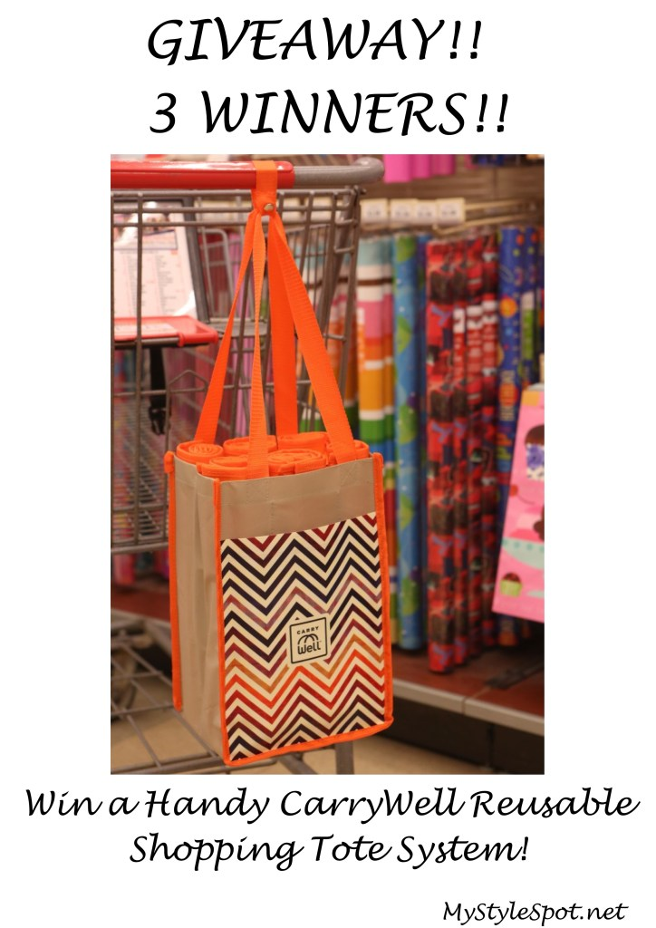 Win a carrywell reusable shopping tote system
