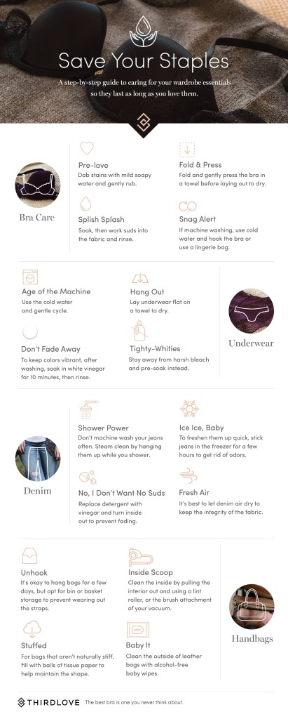 under garments wash/care guide