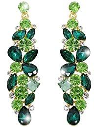 green st patricks day earrings
