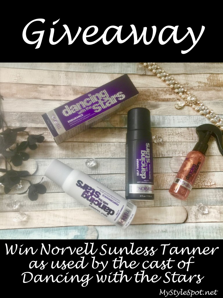 Win Norvell Sunless Tanner as used by the cast of Dancing with the Stars