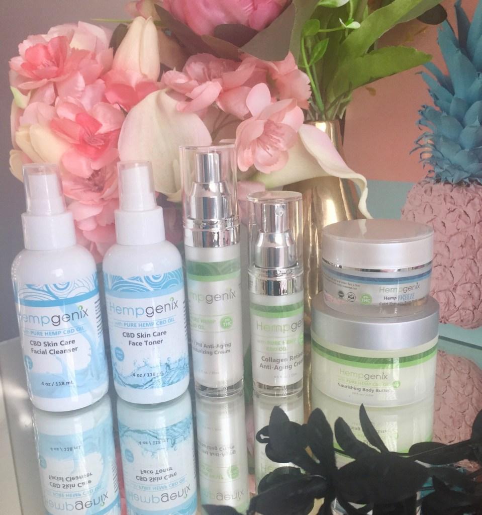 Hempgenix CBD Oil Skincare