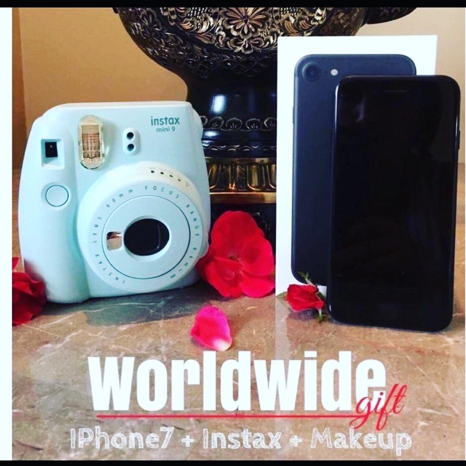 Win an iPhone 6, Instax Camera and makeup!
