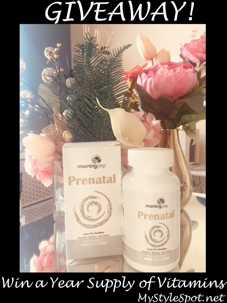 Why a PreNatal Vitamin Should Replace Your Daily - Even If You're Not Currently Trying to get Pregnant + A GIVEAWAY