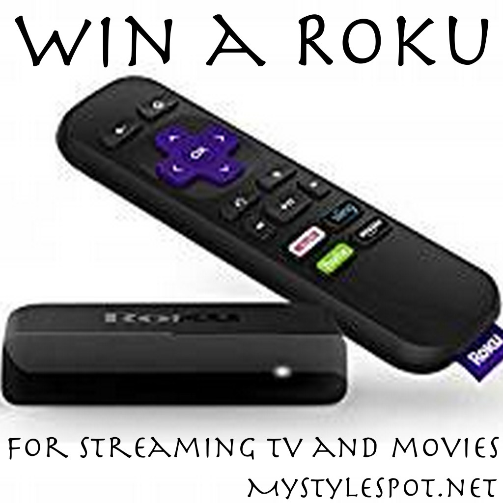 GIVEAWAY: Win a Roku for Streaming TV & Movies