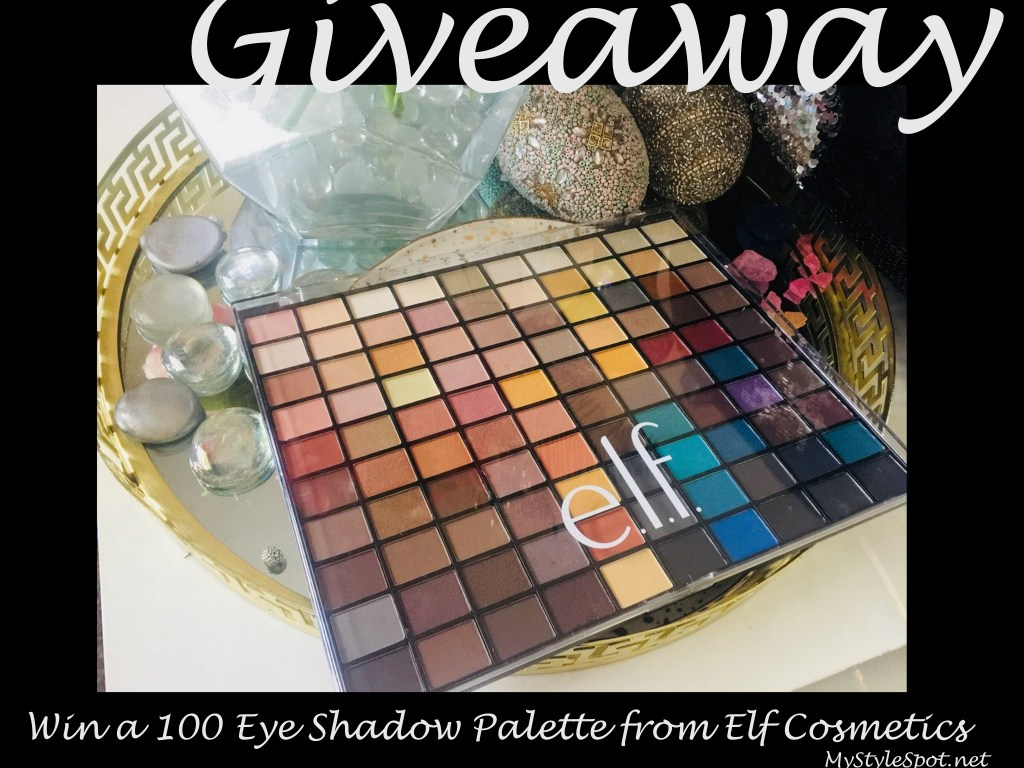 GIVEAWAY: Win a 100 EyeShadow Palette