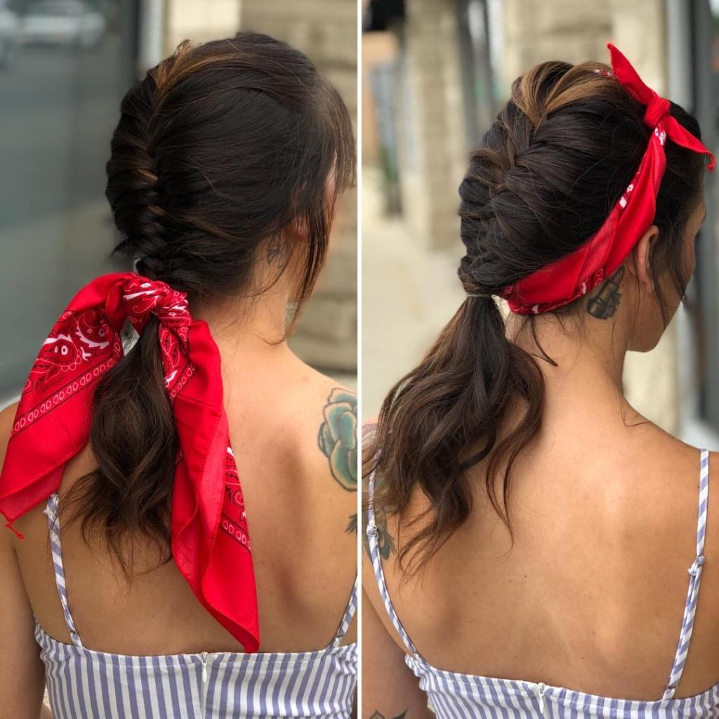 Quick & Cute Labor Day Hairstyle: 2 Ways by Tony Odisho