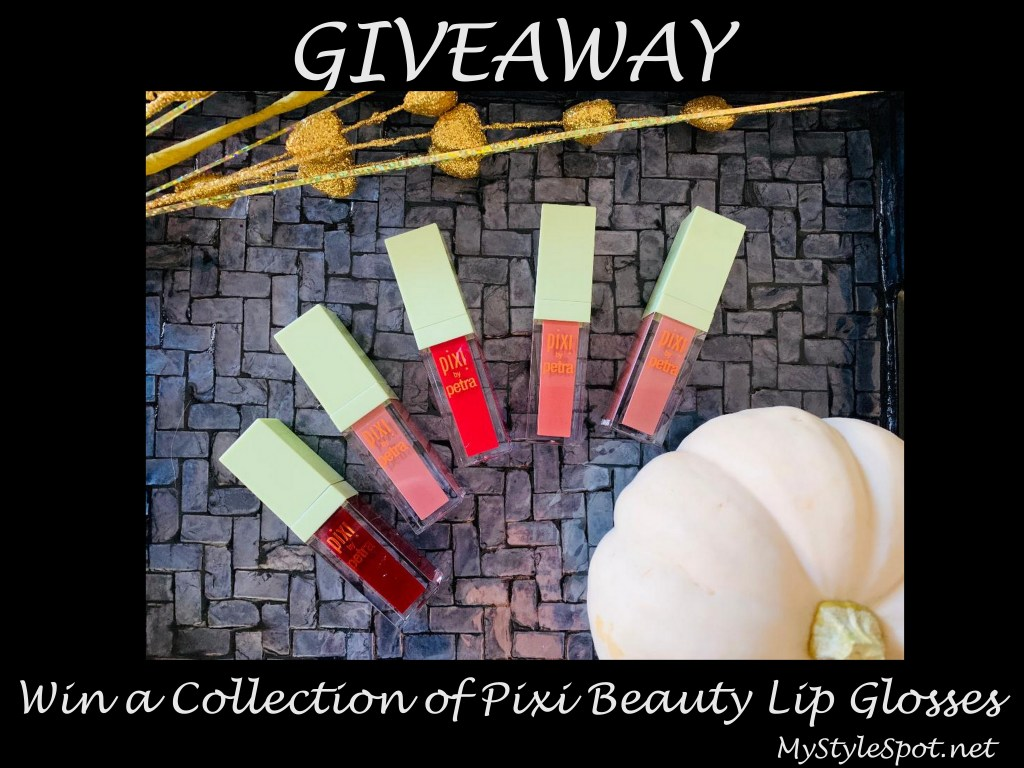GIVEAWAY: Win a Collection of Pixi Beauty Lip Glosses + Enter a Bunch of other Giveaways